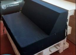 Подушка из поролона с наклонной спинкой