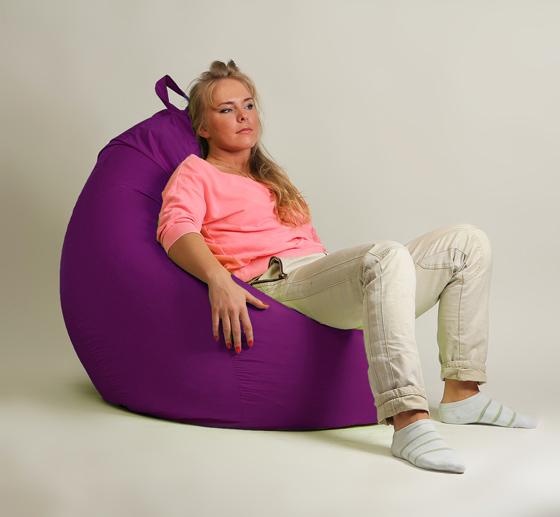 Кресло груша XXL стандарт фуксия