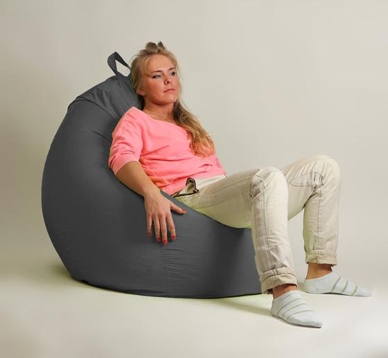 Кресло груша XXL стандарт серое