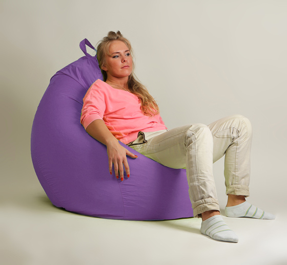 Кресло груша XXL стандарт сирень