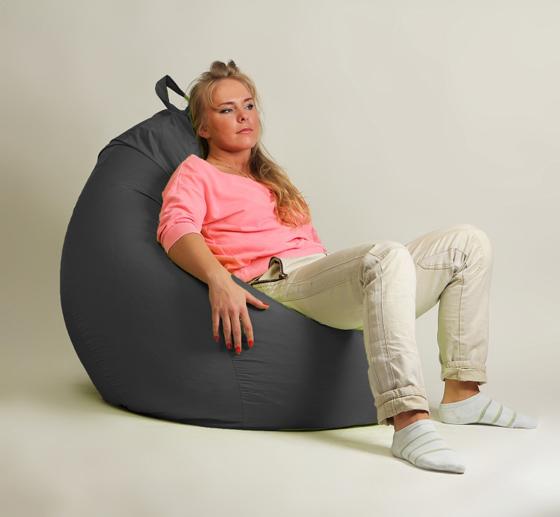 Кресло груша XXL стандарт черное