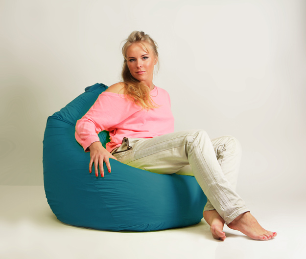 Кресло мешок груша Стандарт Бирюзовая