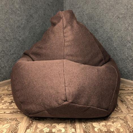Кресло мешок груша XXL Рогожка Infinity Cofe