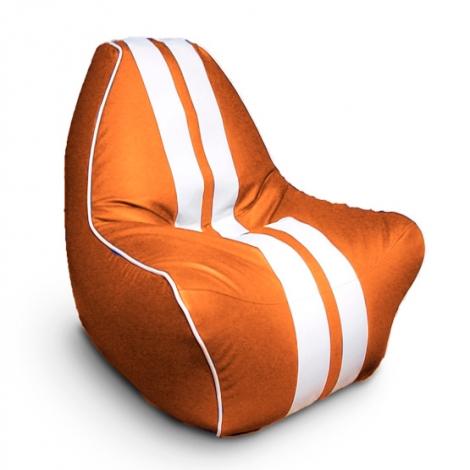 """Кресло мешок """"Ферарри"""" оранжевое"""