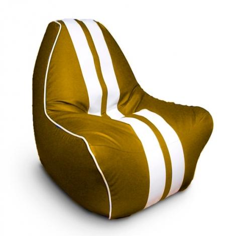 """Кресло мешок """"Ферарри"""" Золотое"""