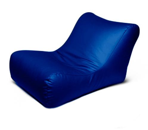 """Кресло мешок """"Лежак"""" Синее"""