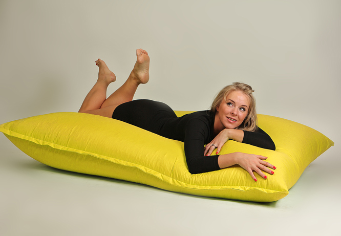 Бескаркасная мебель - мат желтый