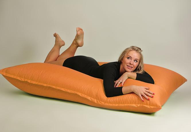 Бескаркасная мебель - мат оранжевый
