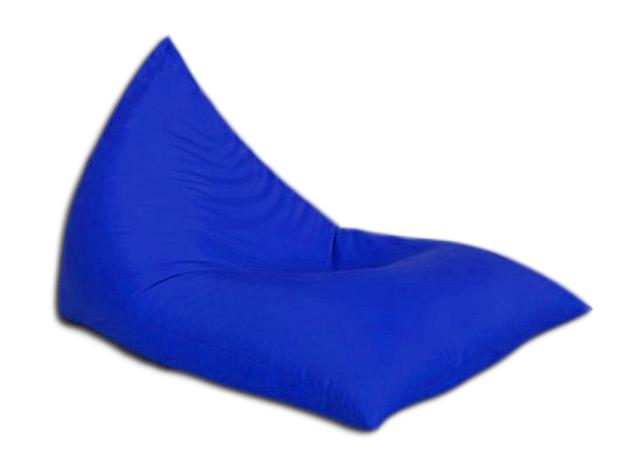"""Кресло мешок """"Пирамида"""" Синее распродажа"""