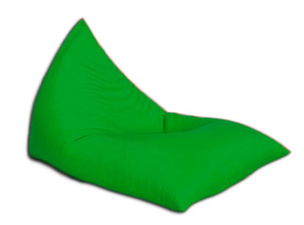 """Кресло мешок """"Пирамида"""" Зеленое"""