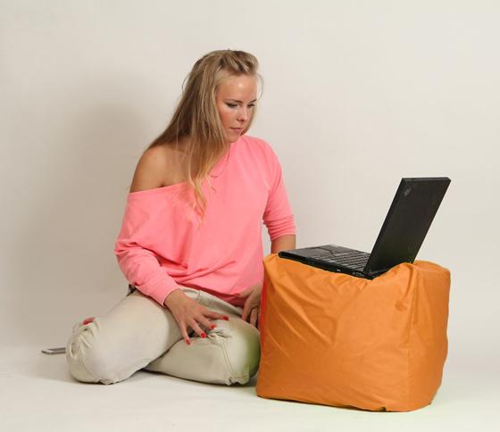 """Кресло мешок """"Пуфик"""" Оранжевый"""