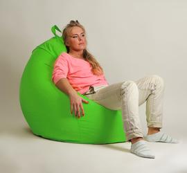 Кресло мешок груша  XXL Стандарт Салатовое