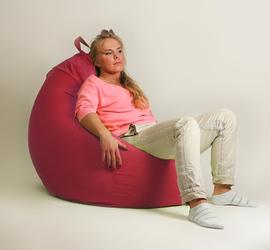 "Кресло мешок ""Груша"" XXL стандарт красное"