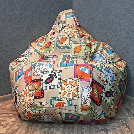 Кресло мешок Груша XXL Детство