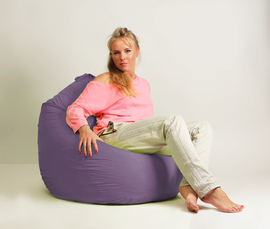 Кресло мешок груша Стандарт Сирень