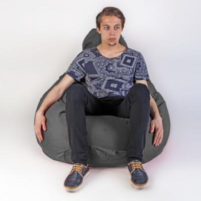 Кресло мешок груша XXL Energy Grafit