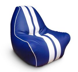 """Кресло мешок """"Ферарри"""" синее"""