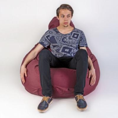 Кресло мешок груша XXL Energy Mauve