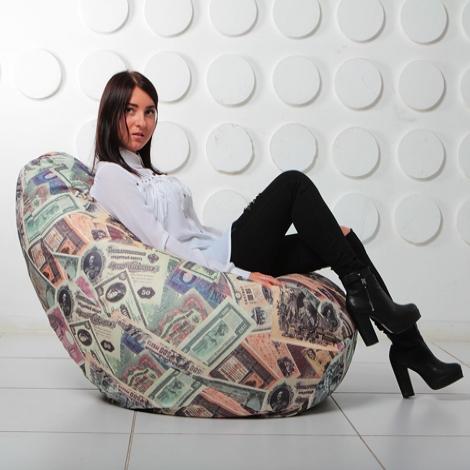 """Кресло мешок Груша XXL """"Money 00"""""""