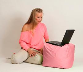 """Кресло мешок """"Пуфик"""" Розовый"""